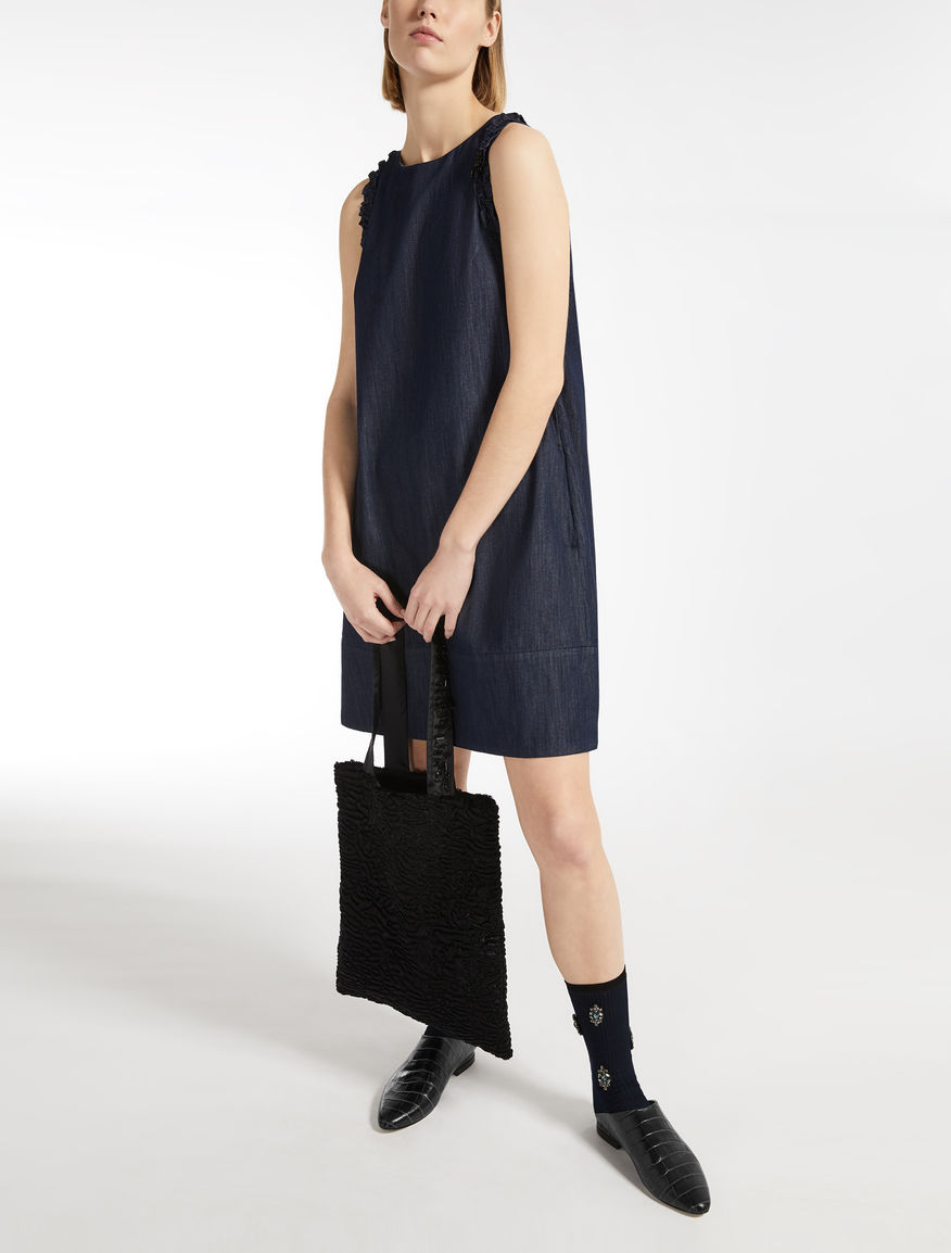 Max Mara - Cotton denim dress - 5