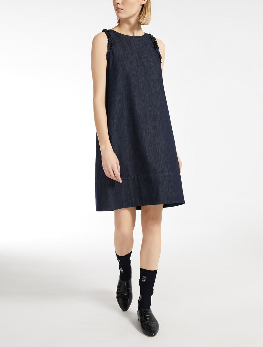 Max Mara - Cotton denim dress - 1