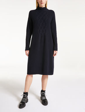 Kleid aus Wolle und Cashmere