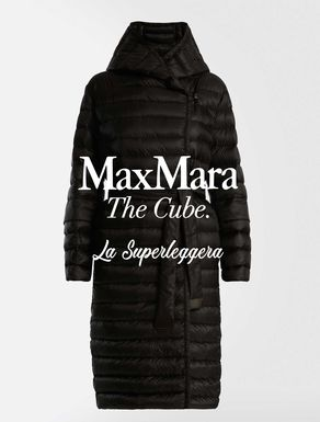 La Superleggera drop-proof canvas down jacket