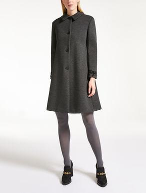 Scuba jersey coat