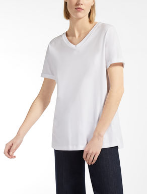 코튼 저지 티셔츠