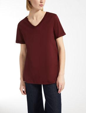 Baumwolljersey-T-Shirt