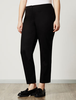 Pantalone slim fit in cotone stretch