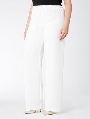 Pantalone in triacetato compatto