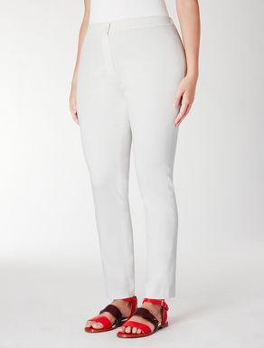 Pantalone leggings in raso di cotone
