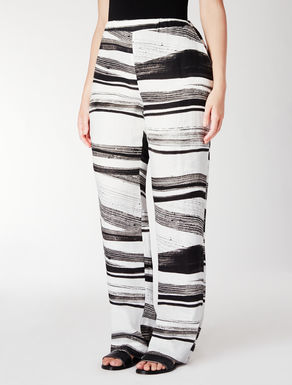 Pantalone ampio in lino