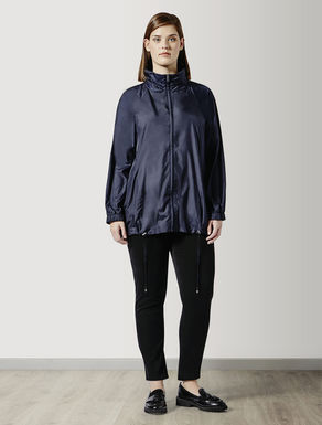 Canvas raincoat