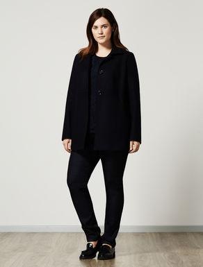 Double wool jacket