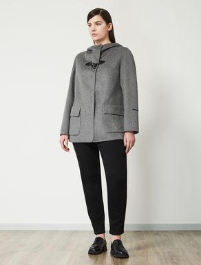 Jacket in double wool blend