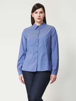 Bluse aus Baumwolle und Nylon