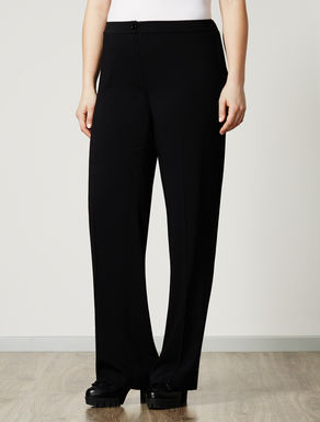 Comfort trousers with elastic
