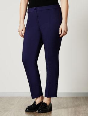 Hose aus elastischem Jacquard