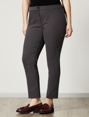 Comfort trousers with tie design