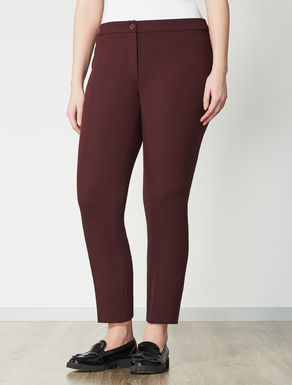 Double polyviscose trousers
