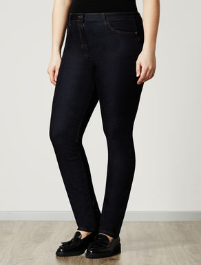 Super-stretch shaping-fit jeans