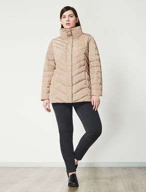 Polymemory drop-proof down jacket