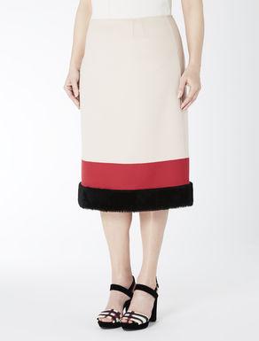 TSUMORI CHISATO Double wool skirt
