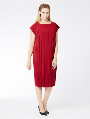 Triacetate pleated dress
