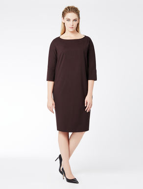 Light wool, relaxed-fit dress