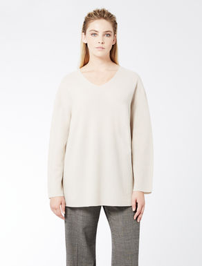 Pure cashmere oversize jumper