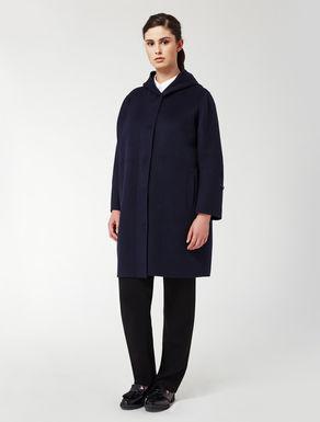 Double wool and angora jacket