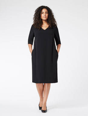Dress in comfort triacetate