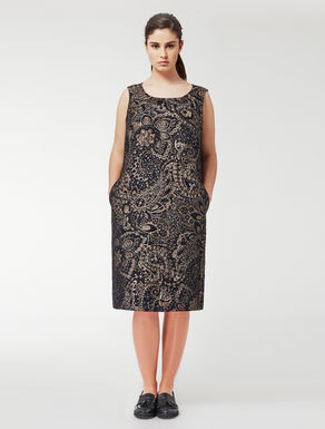 Three-dimensional jacquard dress