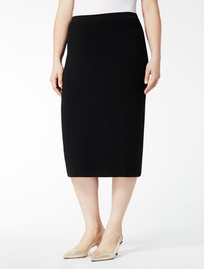 Comfort viscose tube skirt