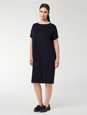 Wool and viscose dress