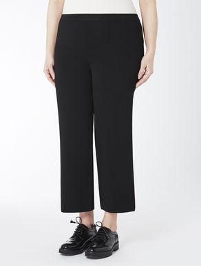 Comfort viscose wide-leg trousers