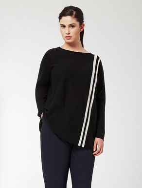 Wool and cashmere oversize jumper