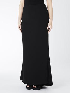 Long comfort triacetate skirt