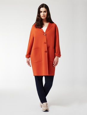 Double jersey coat