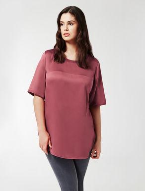 T-Shirt aus Satin