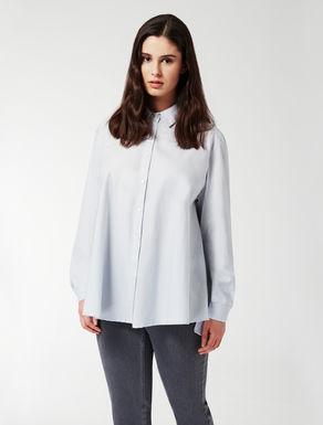 Hemdbluse aus Baumwolle-Nylon-Gemisch