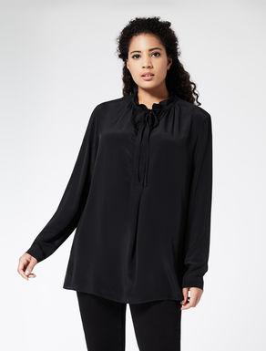 Blended silk floaty shirt