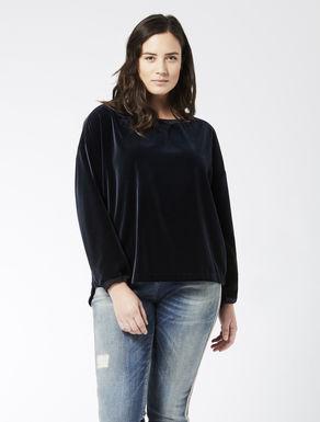Velvet panné blouse
