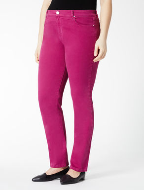 Stretch cotton bull trousers