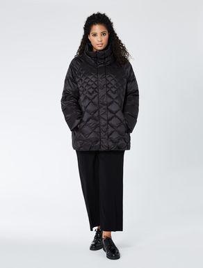 Quilted drop-proof gabardine jacket