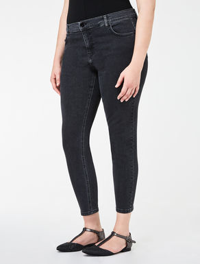Stretch super-slim-fit denim jeans