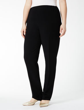Triacetate trousers with elastic waist