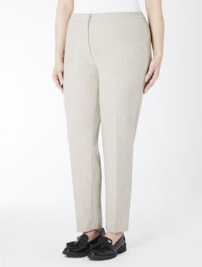 Structured original slim-fit trousers