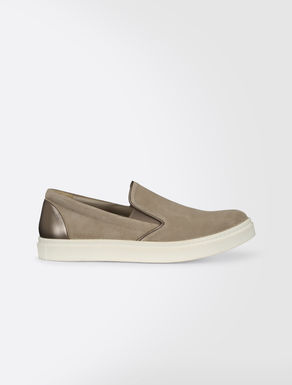 Slip-on in crosta scamosciata