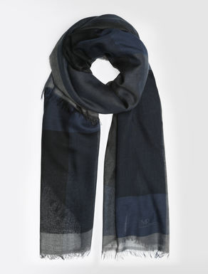 Modal and wool scarf
