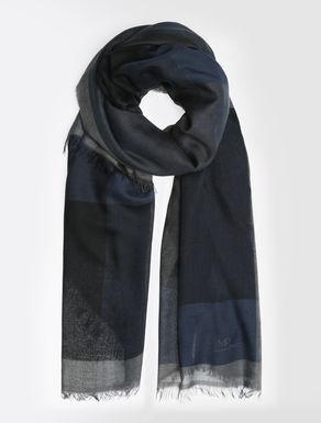Halstuch aus Modal und Wolle