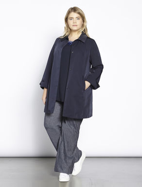 Waterproof ottoman duster coat