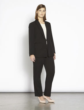 Stretch technical tuxedo jacket