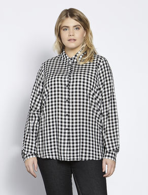 Floaty long viscose shirt