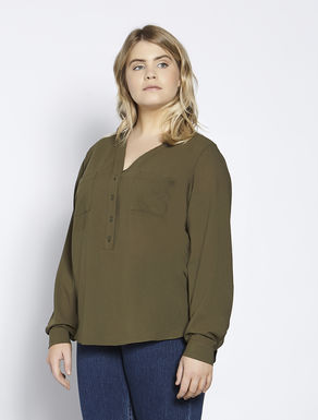 Lightweight sablé shirt